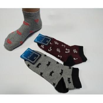 Шкарпетки   н\п жіночі асорті 23-25р. (12шт\уп)