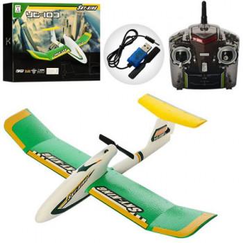 Літак  р/у YT103 4G акум.,2кан.,USB зар.пінопласт в кор. 59*37,5*9см.