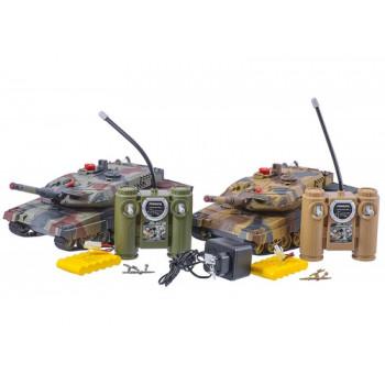 Набір  танків р\у  558 акум,2шт,звук.світло,50*34*21см,в кор-ці