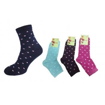 Шкарпетки с\п жіночі ГОРОХ 23-25 (12 шт)