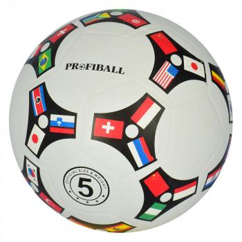 М'яч  футбольний VA-0081 резиновий 380-400гр (50 шт/уп)